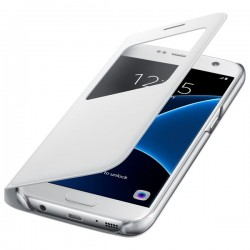 Samsung S View Cover pro Galaxy S7 bílý [EF-CG930PWEGWW]