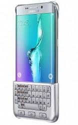 Pouzdro s klávesnicí Samsung Keyboard Cover pro Galaxy S6 Edge plus stříbrné [EJ-CG928BSEGWW]