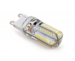 LED žárovka ABILITE / G9 / 2,5W / 170lm / 64xSMD3014 / 330° / 230V / studená bílá / silikon