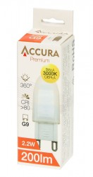 Accura Premium G9 2,2W