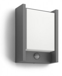 Philips Arbour IR wall lantern anthracite 1x6W