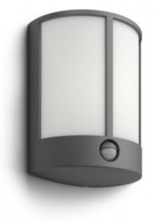 Philips Stock IR wall lantern anthracite 1x6W