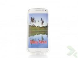 Geffy - Pouzdro Samsung Galaxy S4Mini TPU pure clear