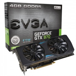 EVGA GeForce GTX 970 4GB FTW