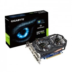 Gigabyte GeForce GTX 750Ti 2GB OC [GV-N75TOC-2GI]