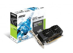 MSI GeForce ® GTX 750 Ti 2GB