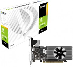 Palit GeForce ® GT 730 4GB DDR3 128bit [NEAT7300HDG1F]
