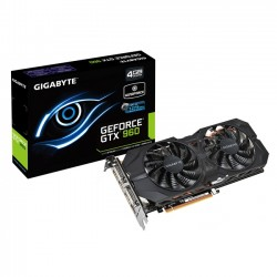 Gigabyte GeForce ® GTX 960 4GB WindForce [GV-N960WF2OC-4GD]