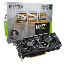 EVGA GeForce ® GTX 1050 SSC GAMING 2GB ACX 3.0 [02G-P4-6154-KR]