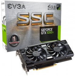 EVGA GeForce ® GTX 1050 Ti SSC GAMING 4GB ACX 3.0 [04G-P4-6255-KR]