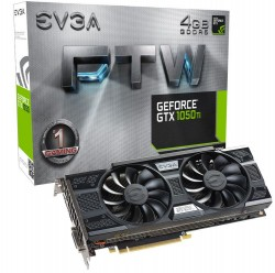 EVGA GeForce GTX 1050 Ti FTW GAMING 4GB ACX 3.0