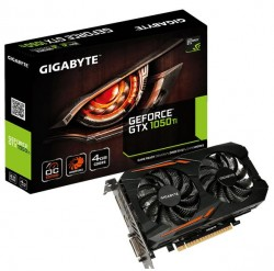 Gigabyte GeForce ® GTX 1050 Ti 4GB OC [GV-N105TOC-4GD]