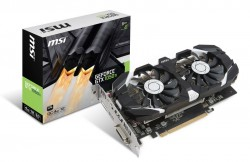 MSI GeForce ® GTX 1050 Ti 4GB OC DUAL