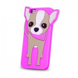 Animal 3D Doggy pro LG K3 růžový