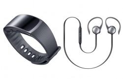 Samsung Gear Fit 2 (R360) černé + sluchátka Samsung Level Active