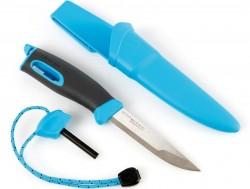 Swedish FireKnife, nůž s křesadlem, modrý