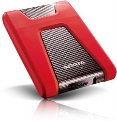 ADATA HD650 1TB červený [AHD650-1TU3-CRD]