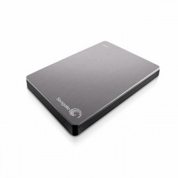 Seagate Backup Plus Slim 2TB stříbrný + Slim Case [STDR2000201]