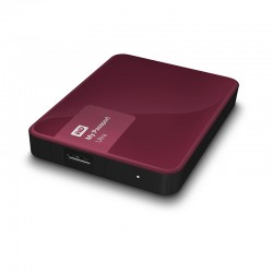 WD My Passport Ultra 2TB USB3.0 bordó [WDBBKD0020BBY-EESN]