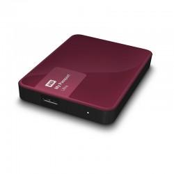 WD My Passport Ultra 2TB USB3.0 bordó + WD Grip Picasso stříbrný [WDBBKD0020BBY-EESN]
