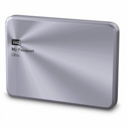 WD My Passport Ultra Metal Edition 2TB USB3.0 Silver [WDBEZW0020BSL-E]