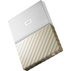 WD My Passport Ultra 4TB USB3.0 bílý-zlatý WDBFKT0040BGD-WESN