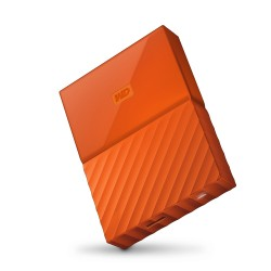 WD My Passport 2TB USB3.0 oranžový [WDBYFT0020BOR-WESN]