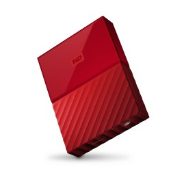 WD My Passport 3TB USB3.0 červený [WDBYFT0030BRD-WESN]