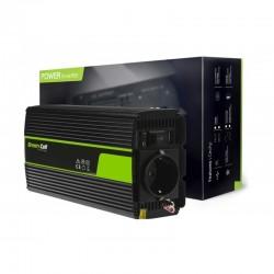 Green Cell měnič 24V/230V modifikovaná sinusoida 300W