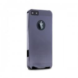 PURO Crystal Cover - pouzdro iPhone 5 tmavé