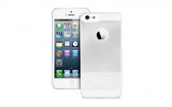 PURO Crystal Cover - pouzdro iPhone 5 světlé