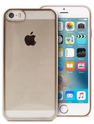 Puro Satin Cover iPhone 5/5s/SE zlatý