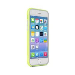 PURO Bumper Cover - Pouzdro iPhone 6 + ochranná fólie (limonkové)