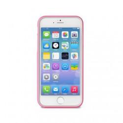 PURO Bumper Cover - Pouzdro iPhone 6 + ochranná fólie (růžové)