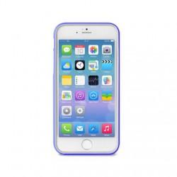 PURO Bumper Cover - Pouzdro iPhone 6 Plus + ochranná fólie (modré)