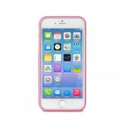 PURO Bumper Cover - Pouzdro iPhone 6 Plus + ochranná fólie (růžové)