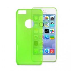 PURO Crystal Cover - Pouzdro iPhone 5C (zelené)