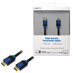 Kabel HDMI v1.4 Premium 1m Logilink