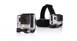 GoPro Head Strap + QuickClip pro kamery HD Hero