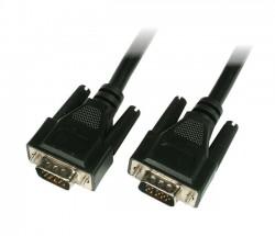 Kabel k monitoru 15M/15M 15m stíněný