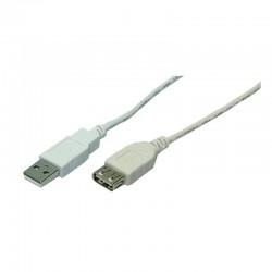 Prodlužovací kabel USB 2. 0 AF/AM 2m
