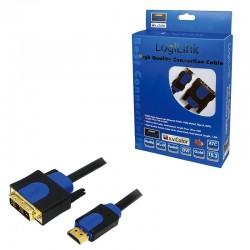 Kabel HDMI-DVI/D 10 m