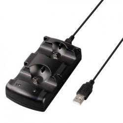 """Hama stacja ładująca """"V2"""" do kontrolerów Sony PS3"""