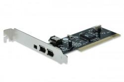 Řadič PCI FireWire IEEE1394a Digitus