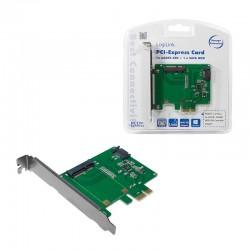 LogiLink řadič PCI Express 1x mSATA SSD + 1x SATA HDD