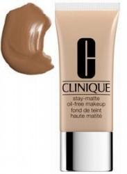 Clinique Stay-Matte Oil-Free Makeup matná podkladová báze 19 Sand 30ml