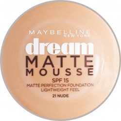 Maybelline New York Dream Matte Mousse podklad 21 Nude 18 ml