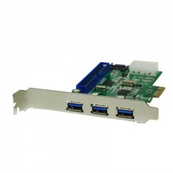 LogiLink PC0069 PCI Express USB 3.0, SATA II, IDE