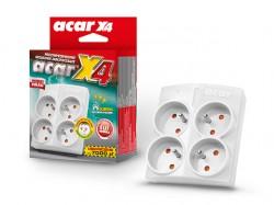 Acar X4 4 zásuvky