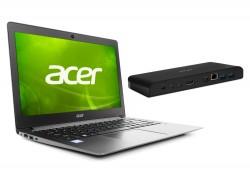 Acer TravelMate X349 – stříbrný + dokovací stanice
